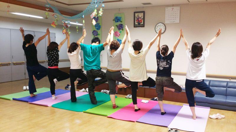 Yoga Studio H&B 出張ヨガ埼玉県行田市にある介護福祉施設グリーンピア